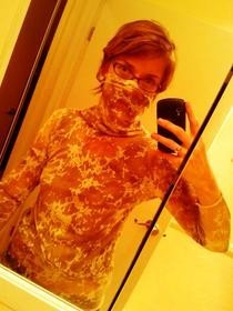 Desert Camo Shirt With Built In Particulate Guard