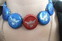 Bottlecap Choker