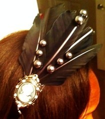 Gothish Cameo Headband