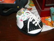 Baby Shoe Pincushions
