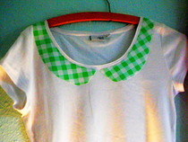 No Sew Collar T Shirt