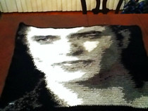 Crochet Edward Cullen Blanket