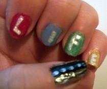 """Life Is A Highway"" Nails"