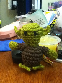 Crochet Yoda