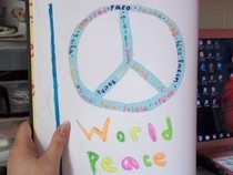 World Peace Drawing