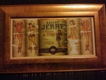 Sailor Jerry Framed 