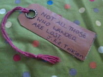 Tolkien Quote Bookmark