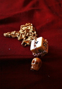 Dice And Skull Necklace