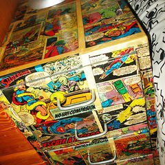 Comic Bedside Table