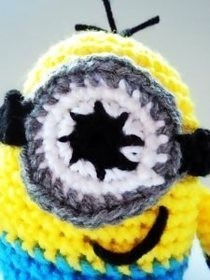 Crochet Minion Pattern