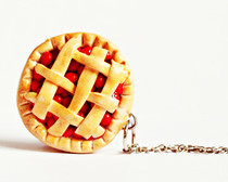 Polymer Clay Cherry Pie