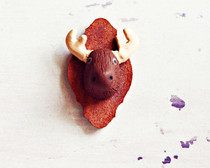 Polymer Clay Moose