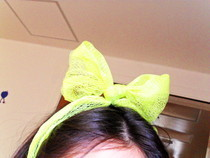 Recycled Bath Sponge Headband