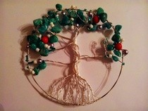 Wire Wrapped Tree Of Life Ornament