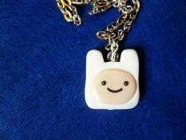 Finn Adventure Time Necklace