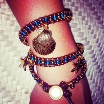 Mermaid Wrap Bracelet
