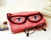 Felted Spectacle Glasses Case 
