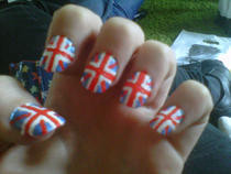 Union Jack Nails