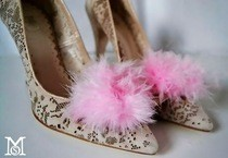Fluffy Feathers Shoes