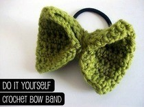 Crochet Bow Band