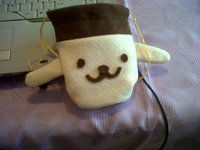 How to sew a fabric character pouch. Diy: Purin Pouch - Step 6