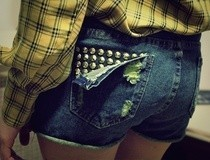 Stud Poin Pants