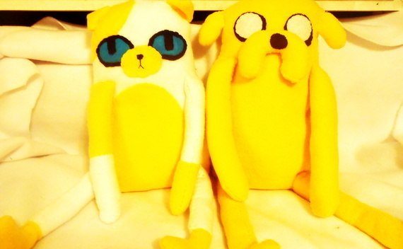 Jake And Cake Plush
