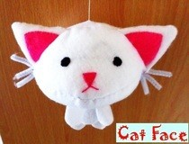 Cat Face Plushie