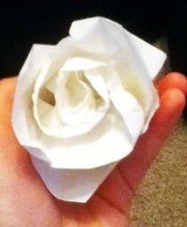 Konan's Origami Rose