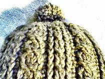 Crochet Cable Chullo (Andean Earflap Hat)