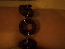 Wooden Hoop Bracelet
