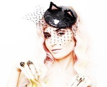 Audrey Kitching Cat Fascinator