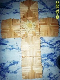 Popsicle Stick Cross