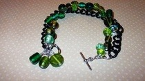 Green And Black Bracelet