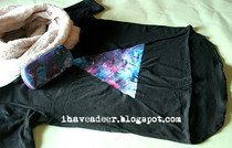 Galaxy Print T Shirt