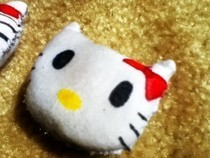 Hello Kitty Head Plushie