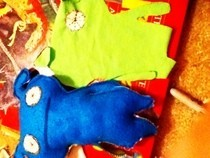 Ugly Dolls Blue And Green