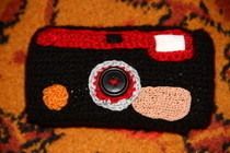 Crochet Camera Case