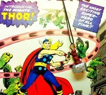 Thor's Mighty Mjolnir Necklace