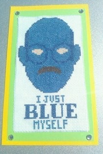 Arrested Development Cross Stitch
