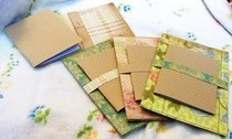 Scrapbook Paper Post Cards