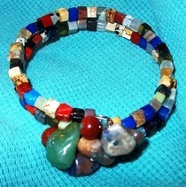 Semiprecious Stone Bangle