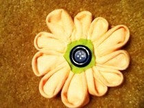 Easy Kanzashi Flower
