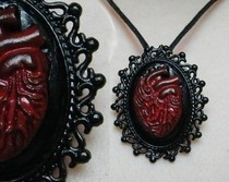 Anatomical Heart Cameo
