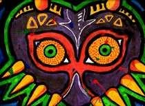 Mojora's Mask Pop Art Themed Painting