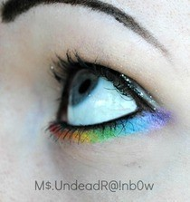 Under Eye Rainbow 
