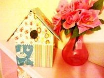 Shabby Chic Bird Box