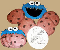 Cookie Monster  Recipe Cards