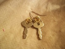 Diary Keys Earrings