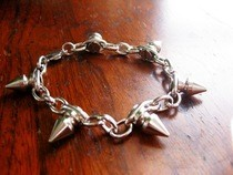 Cone Stud Spike Bracelet